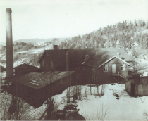 The original factory established in 1898 at Foss in Gansdalen, Norway